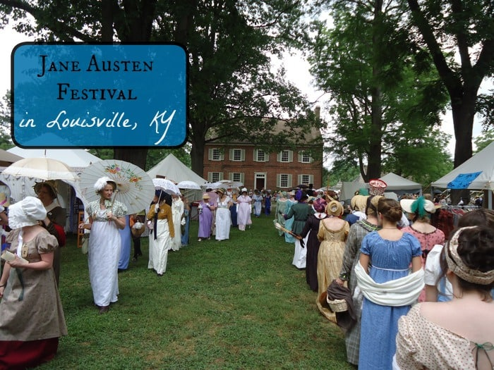 Jane Austen Festival in Louisville, KY