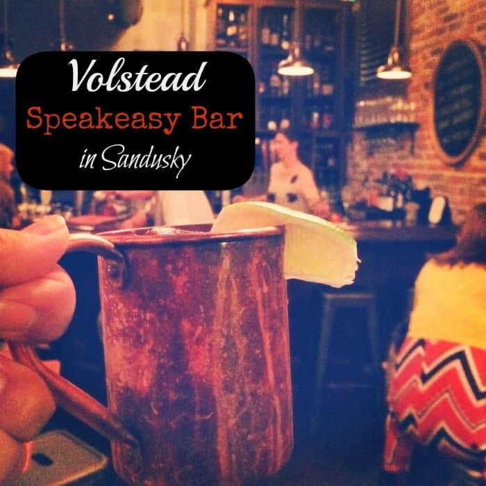 Volstead Speakeasy Bar in Sandusky