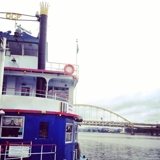 Scenic Pittsburgh Views from the Gateway Clipper Pirate Cruise