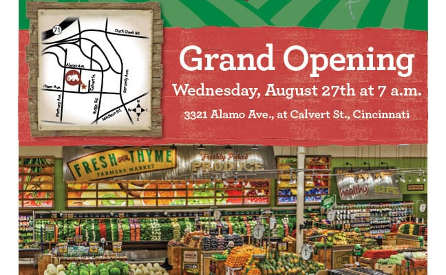 Fresh Thyme Grand Opening & $25 Giveaway