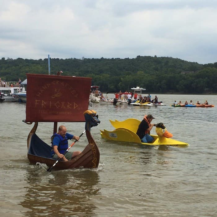 Cardboard Boat Museum and Race Regatta in New Richmond, Ohio