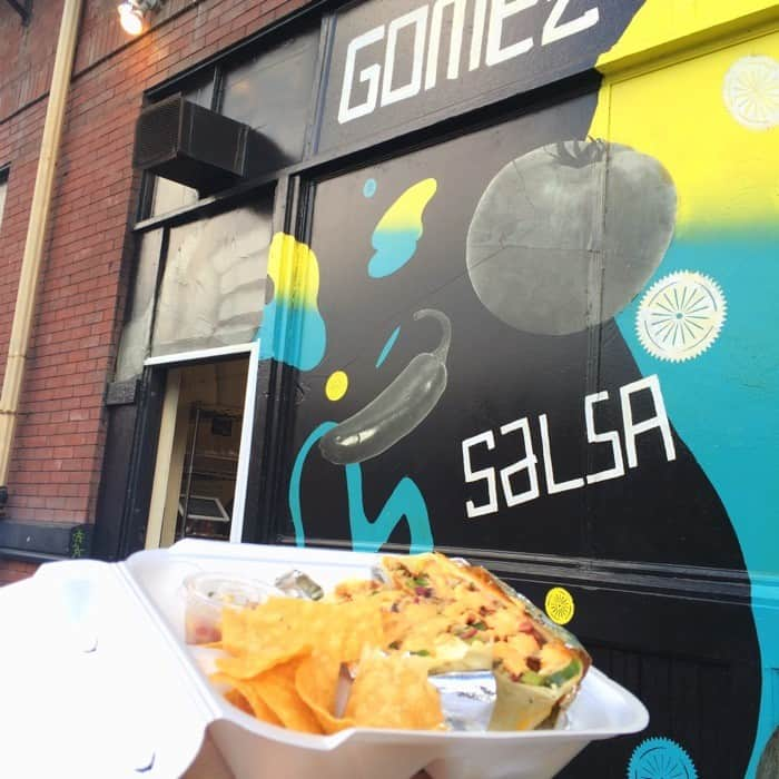 Gomez Salsa Over the Rhine Cincinnati