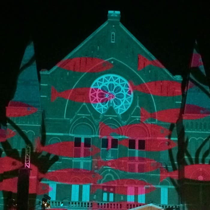 Lumenocity 2014 at Washington Park in Cincinnati, OH