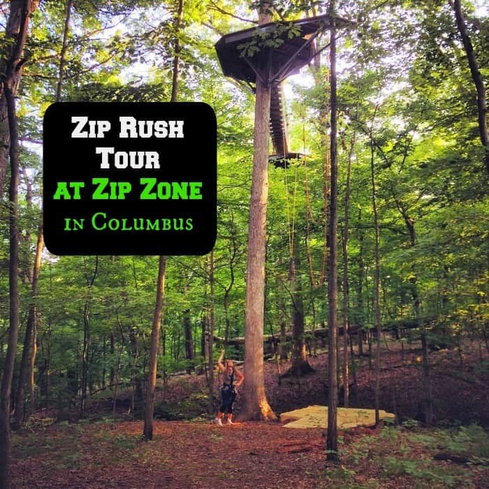 Zip Rush Tour at Zip Zone in Columbus cover