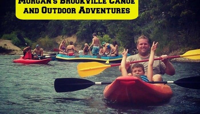 Kayaking at Morgan's Brookville Canoe and Outdoor Adventures