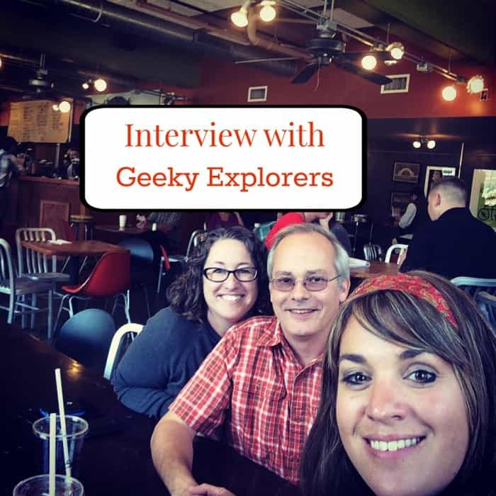 Interview with Geeky Explorers