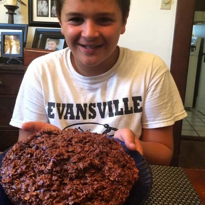 No Bake Cookie Cake Recipe