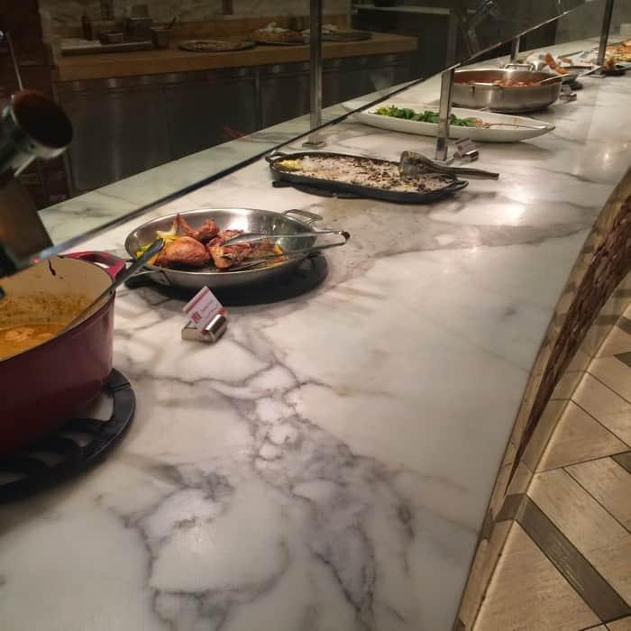Spread Buffet at Horseshoe Casino Cincinnati