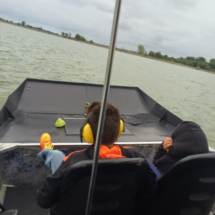 Airboat Ride on Lake Erie with Air 1 Airboats