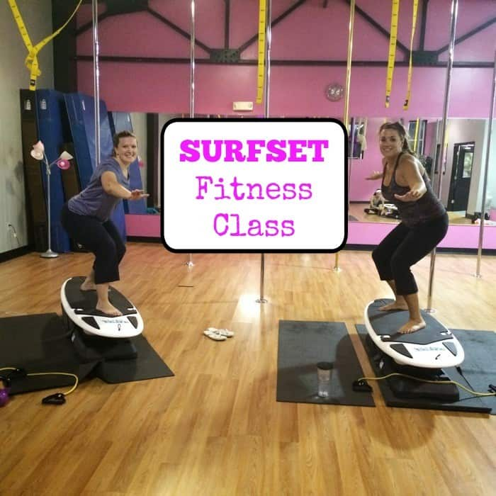 SURFSET Fitness Class Cover