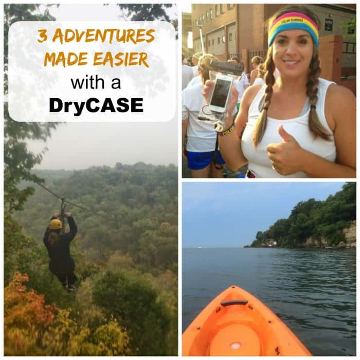 3 Adventures Made easier with a drycase cover