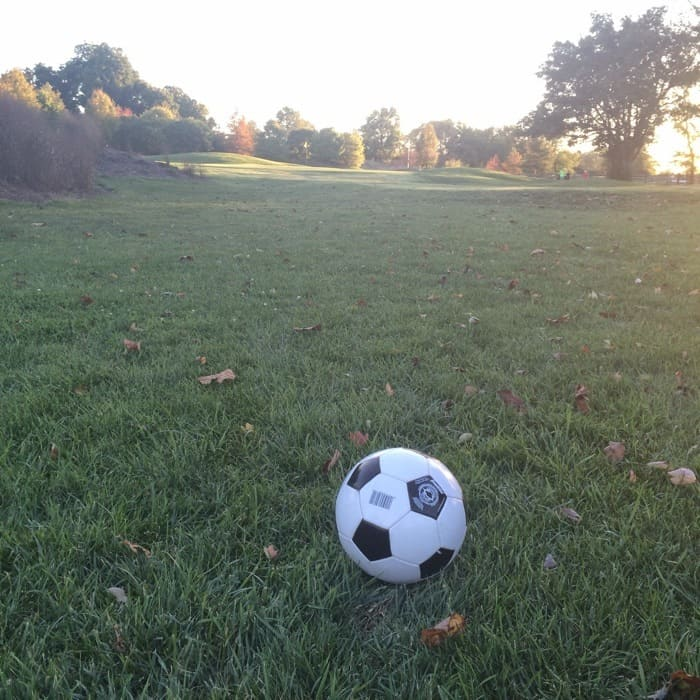 Trying Footgolf for the 1st time at Little Miami Golf Center