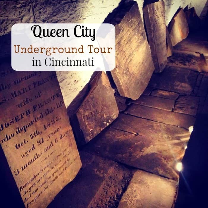 Queen City Underground Tour in Cincinnati Cover