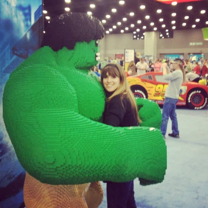 hulk at LEGO® Kidsfest