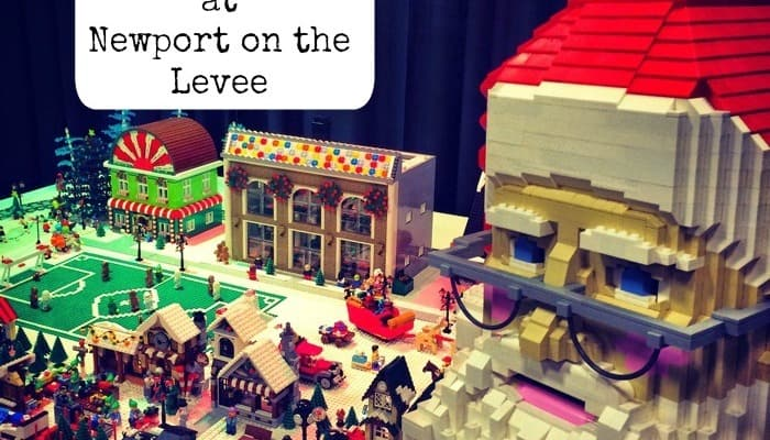 LEGO Fun at BRICKmas at Newport on the Levee