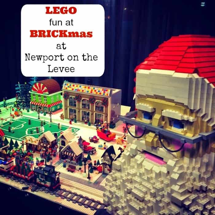 BRICKmas at Newport on the Levee