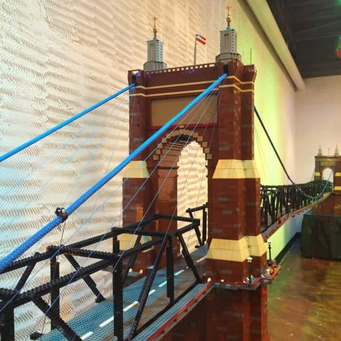 LEGO Roebling Bridge