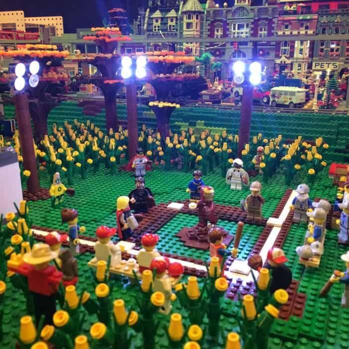 LEGO Field of Dreams BRICKmas