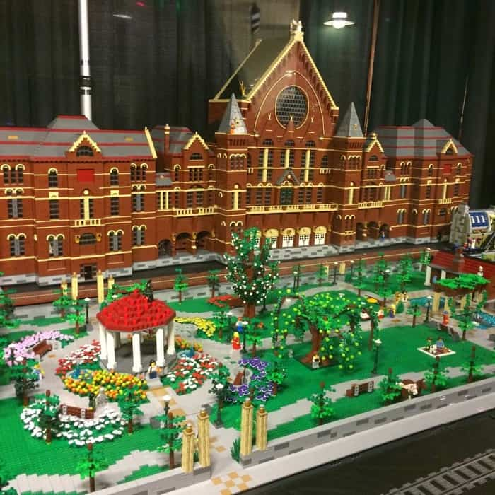 LEGO Cincinnati Music Hall