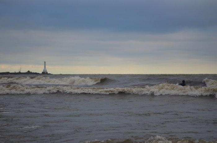 Surf Lake Erie