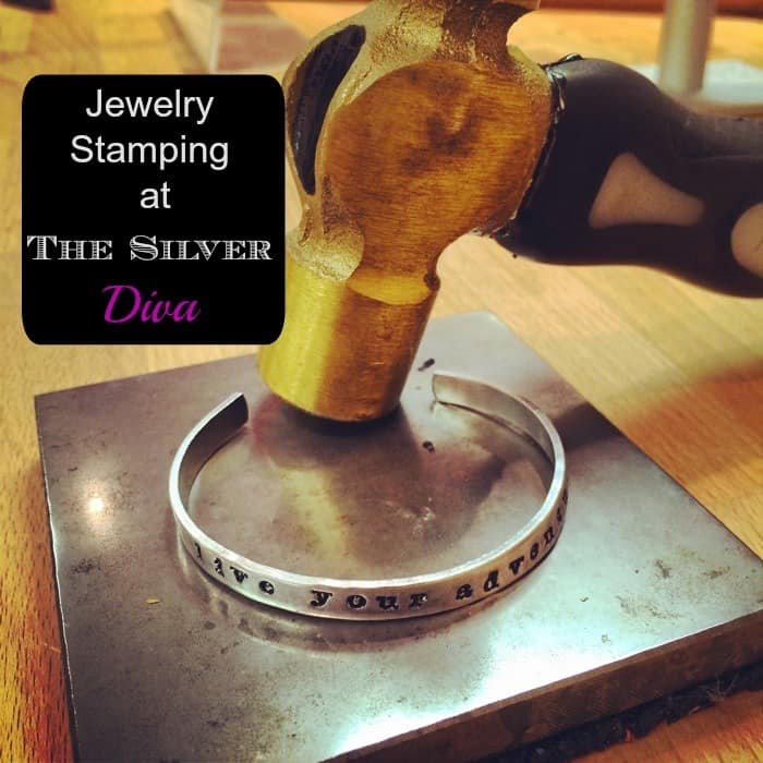 Jewelry Stamping at The Silver Diva