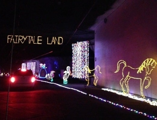 Light Display at Lights Under Louisville at Mega Cavern