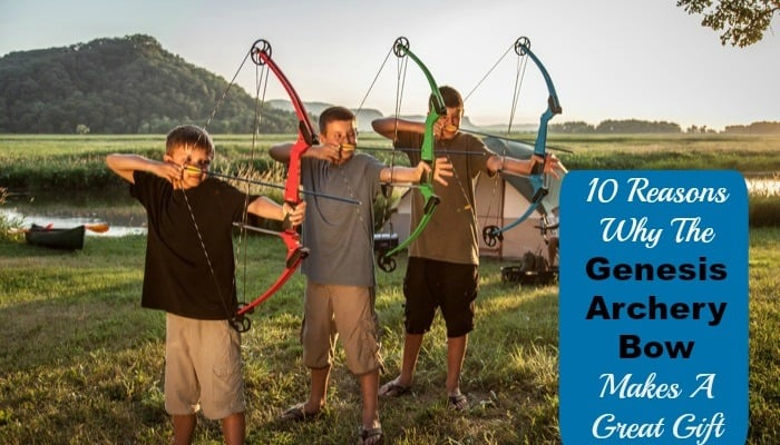 10 Reasons Why The Genesis Archery Bow Makes A Great Gift #BullsIDidIt