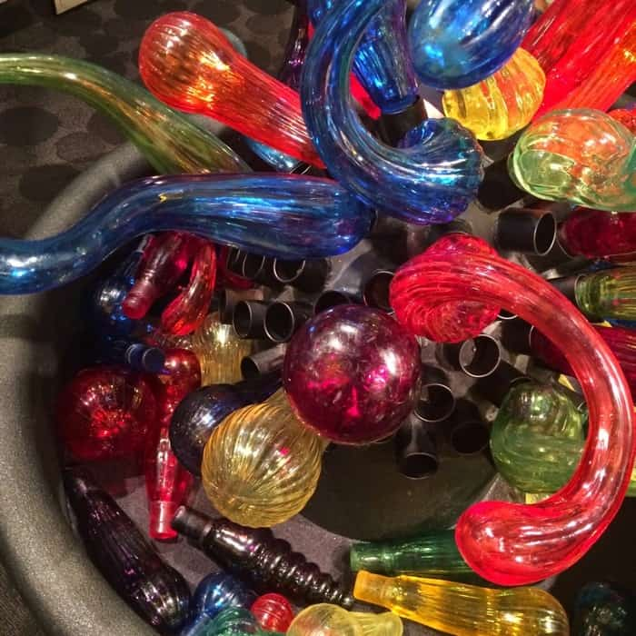 "Kid's display Dale Chihuly ""Fireworks of Glass"""
