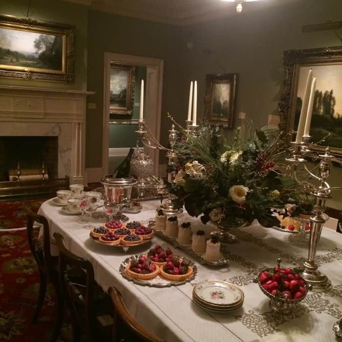 Antique Christmas at the Taft
