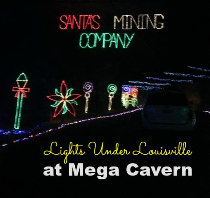 Underground Light Display at Lights Under Louisville at Mega Cavern