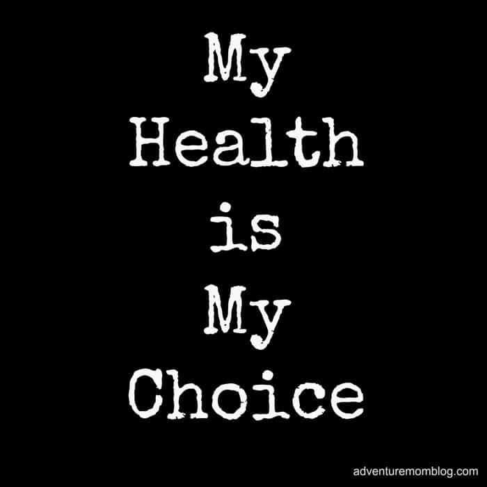 My Health is My Choice Cover