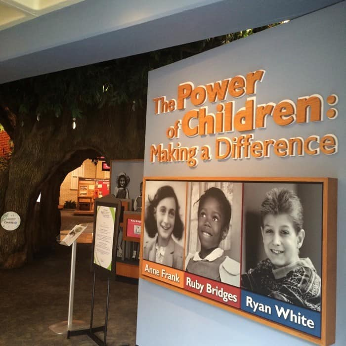 The power of Children exhibit at Children's Museum of Indianapolis