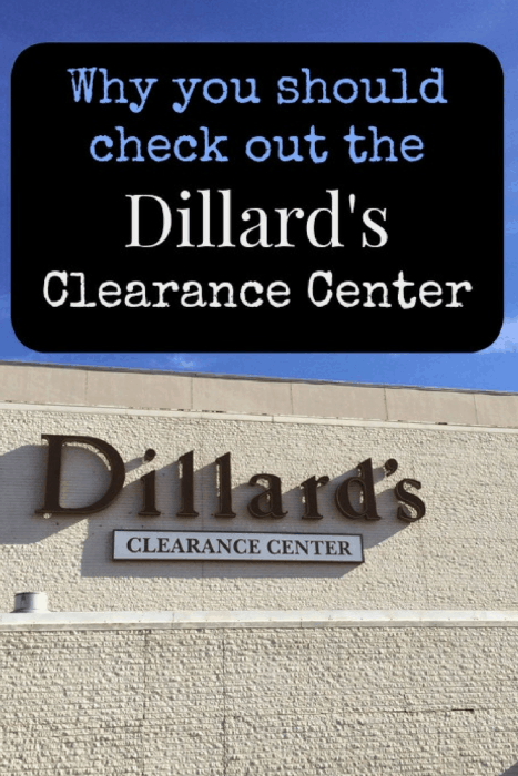 Why you should check out the Dillard's Clearance Center