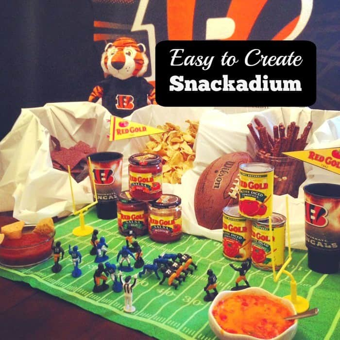 Easy snackadium cover
