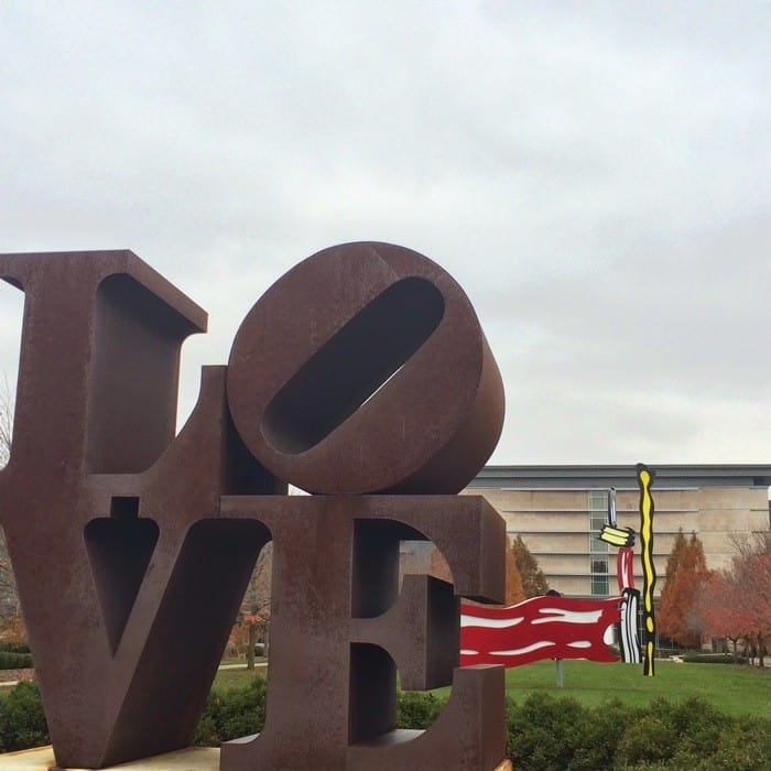 The Virginia B. Fairbanks Art & Nature Park: 100 Acres -Exploring the Indianapolis Art Trail