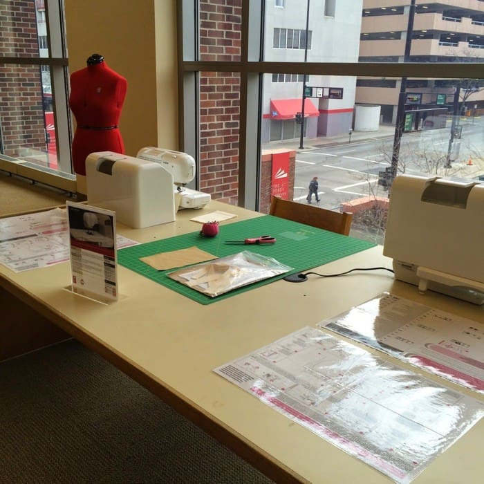 Maker Space  at the Public Library of Cincinnati