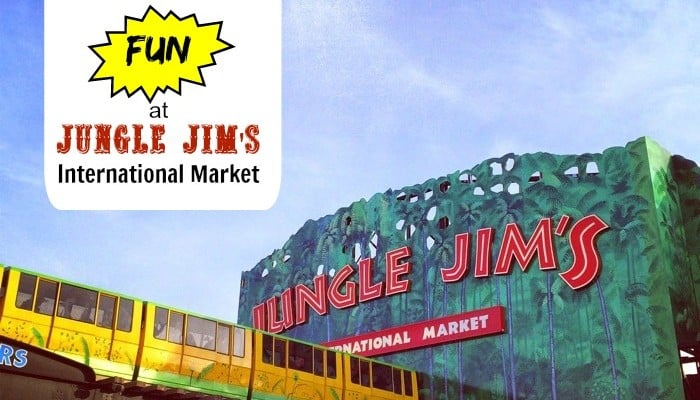 Grocery Shopping Made Fun at Jungle Jim's International Market -Eastgate Location