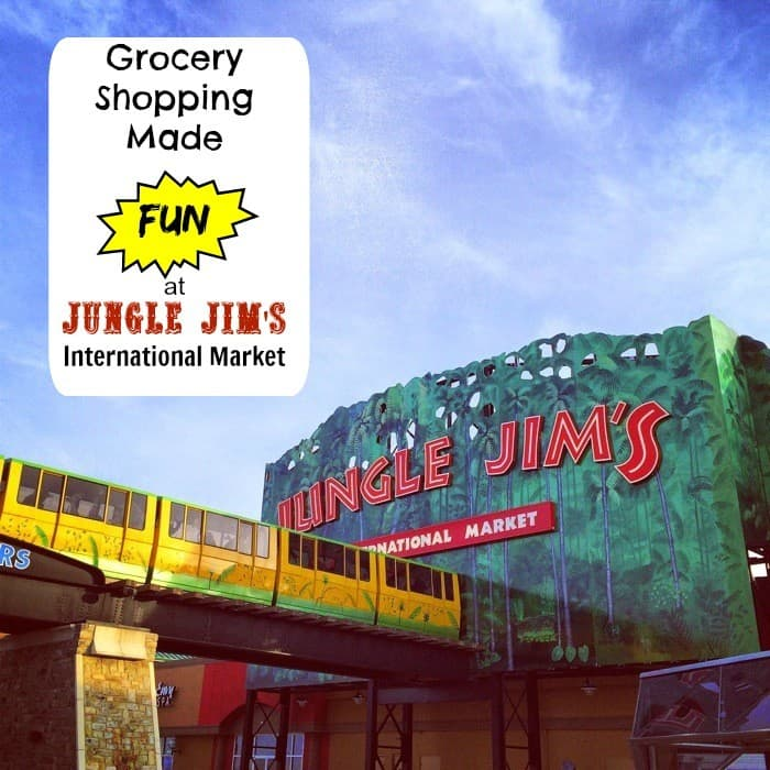 Grocery Shopping Made Fun at Jungle Jim's International Market