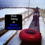 Snow Tubing at Beach Mountain Cover