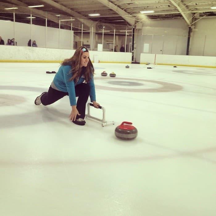 Curling Date Idea in Cincinnati