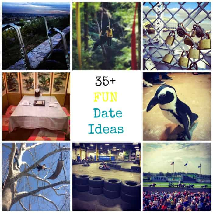 35+ Fun Date Ideas