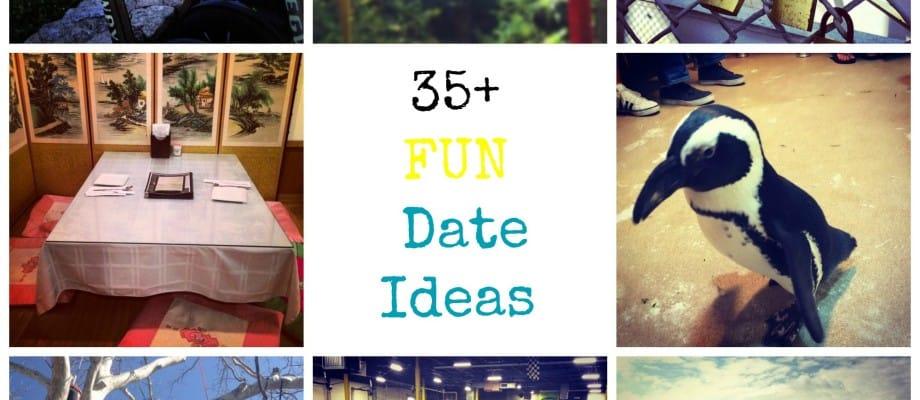 35+ Fun and Adventurous Date Ideas