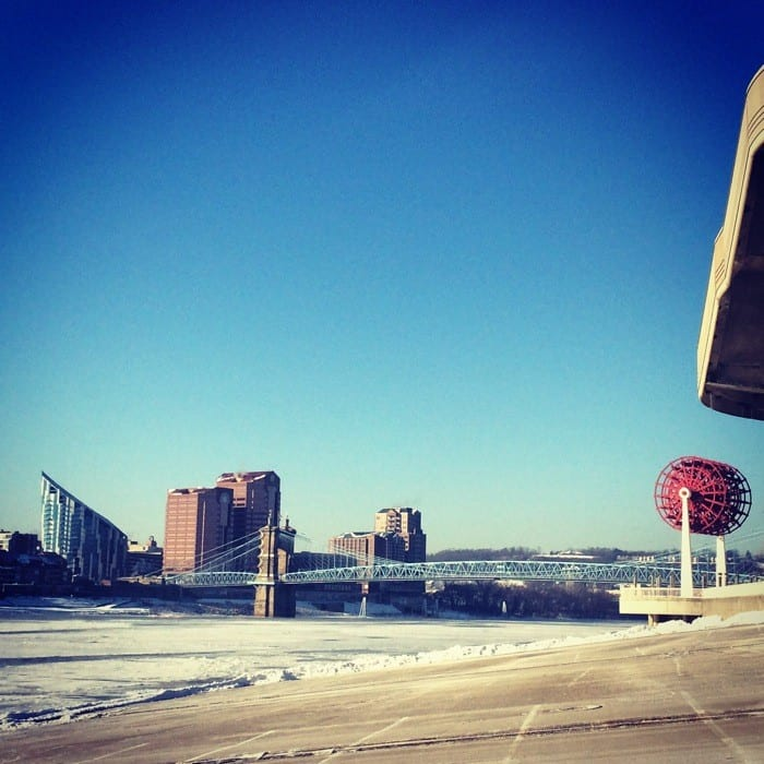 Frozen Ohio River 1