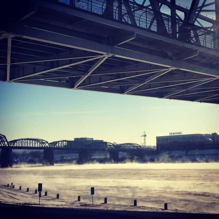 Frozen Ohio River 3