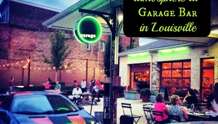 Great food and atmosphere at Garage Bar in Louisville