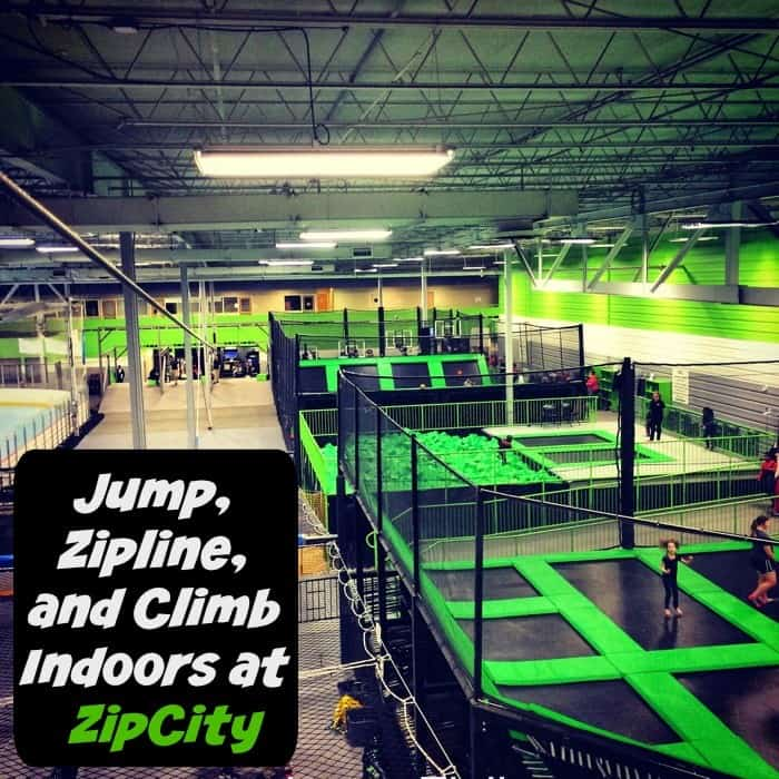 Jumo, Zipline, and Climb Indoors at ZipCity