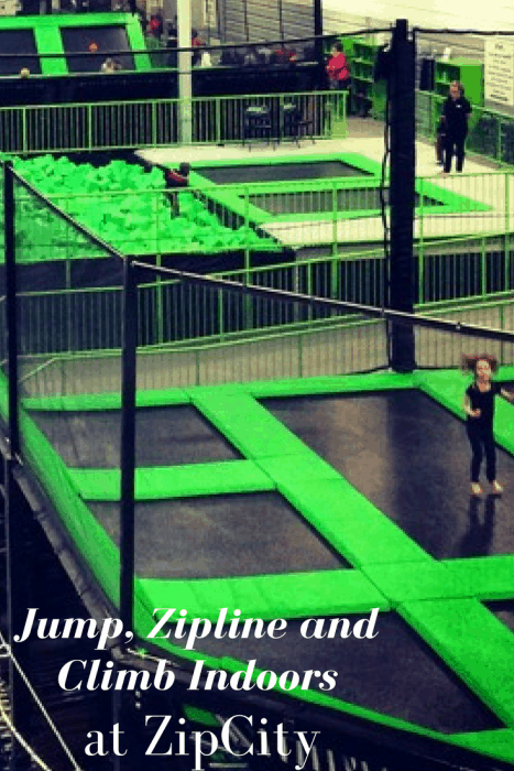 Jump, Zipline and Climb Indoors at ZipCity