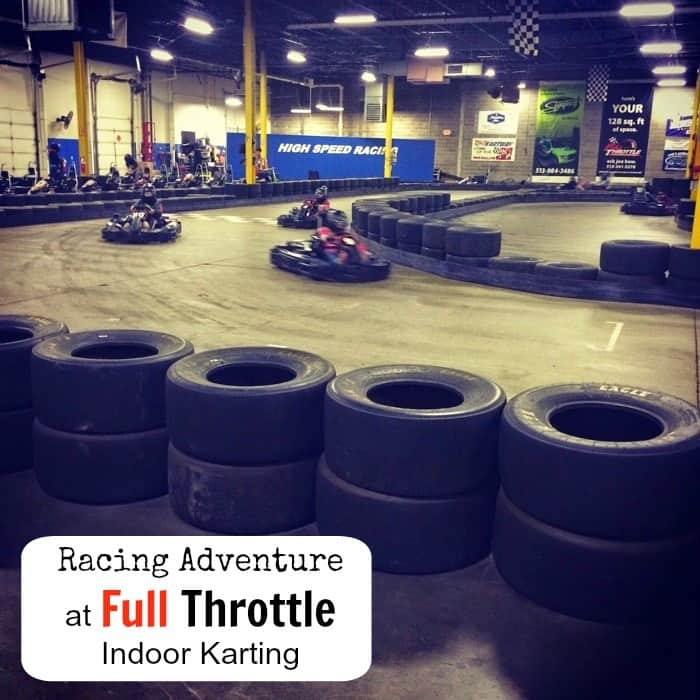 Racing Adventure at Full-Throttle-Indoor-Karting new cover