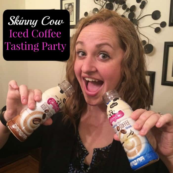 Skinny Cow Creamy Iced Coffee tasting party Cover