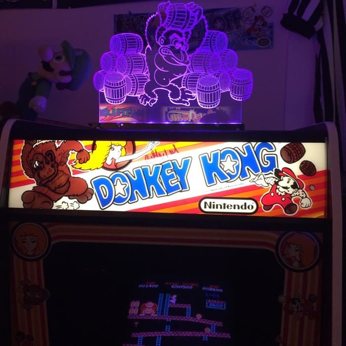 The Place Retro Arcade Donkey Kong